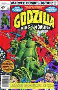 """Yesterday's"" Comic> Godzilla (Marvel) #1"