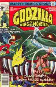 """Yesterday's"" Comic> Godzilla #3 (Marvel)"
