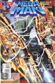Today's Comic> Mega Man#35