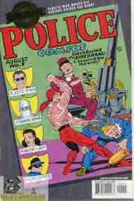 """Yesterday's"" Comic> Police Comics #1"