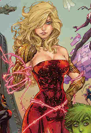 Teen Titans #1 2014 Wonder Girl close-up