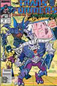 """Yesterday's"" Comic> The Transformers #40"