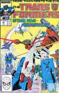 """Yesterday's"" Comic> The Transformers #42"