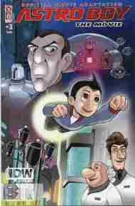 """Yesterday's"" Comic> Astro Boy movie adaptation #3"