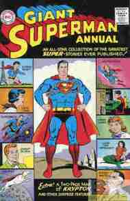 """Yesterday's"" Comic> Giant Superman Annual #1"