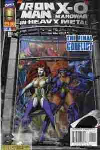 Iron Man X-O Manowar In Heavy Metal