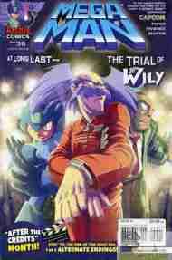 Today's Comic> Mega Man#36
