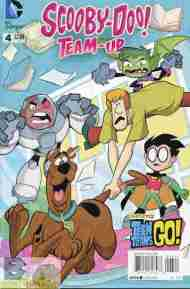 Today's Comic> Scooby-Doo Team-Up#4