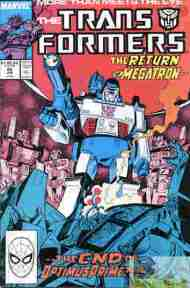 """Yesterday's"" Comic> The Transformers #48"