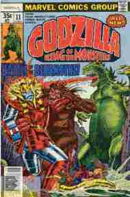 """Yesterday's"" Comic> Godzilla #11 (Marvel)"