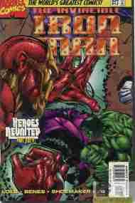 """Yesterday's"" Comic> Iron Man V2 #12(HR)"
