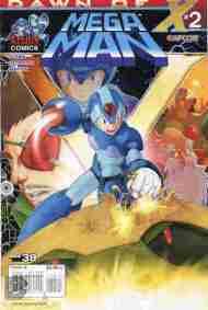 Today's Comic> Mega Man#38