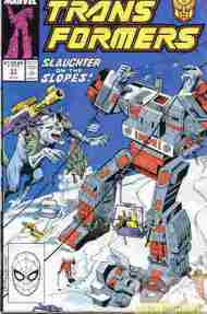 """Yesterday's"" Comic> The Transformers #51"