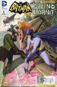 Today's Comic> Batman '66 Meets The Green Hornet#2