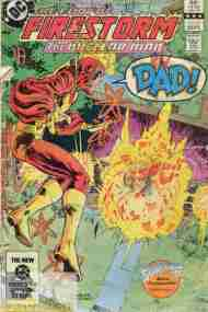 """Yesterday's"" Comic> Fury Of Firestorm #16"