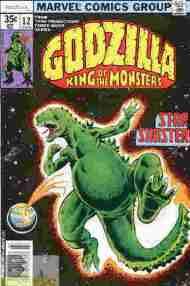 """Yesterday's"" Comic> Godzilla #12 (Marvel)"