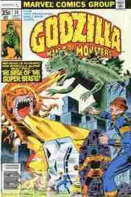 """Yesterday's"" Comic> Godzilla #14 (Marvel)"