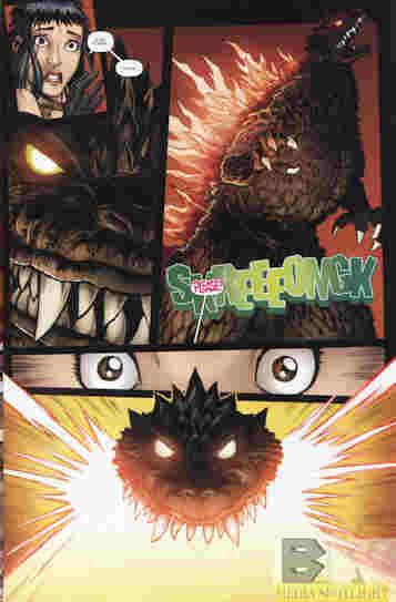 Godzilla Rulers Of Earth #13 Best Scene