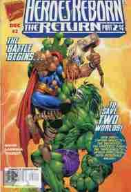 """Yesterday's"" Comic> Heroes Reborn: The Return#2"
