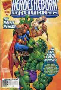 Heroes Reborn The Return #2