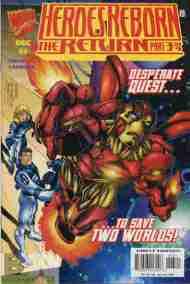 """Yesterday's"" Comic> Heroes Reborn: The Return#3"