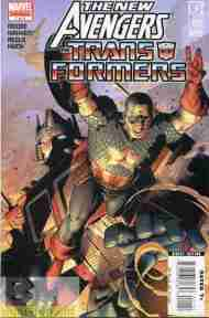 """Yesterday's"" Comic> New Avengers/Transformers #1"