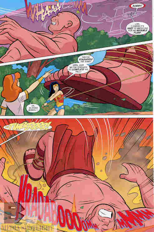 Scooby-Doo Team-Up #5 Best Scene