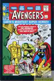 """Yesterday's"" Comic> The Avengers #1"