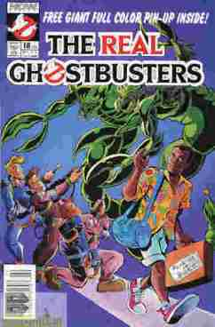 The Real Ghostbusters #18
