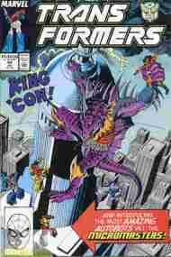 """""""Yesterday's"""" Comic> The Transformers#54"""
