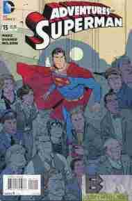 Today's Comic> Adventures Of Superman#15