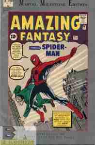 Amazing Fantasy #15 (replica)