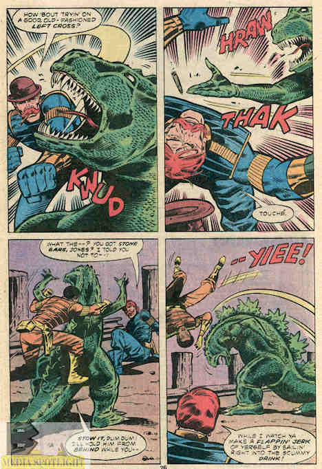 How many people can say they punched Godzilla in the face? How many?