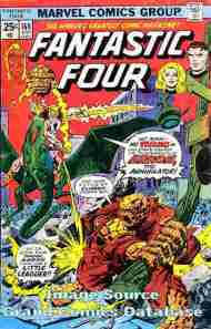 """""""Yesterday's"""" Comic> Fantastic Four#160"""