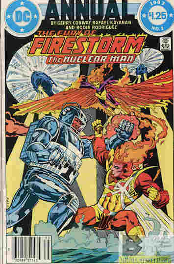 """Yesterday's"""" Comic> Fury Of Firestorm Annual #1 