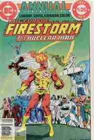 """Yesterday's"" Comic> Fury Of Firestorm Annual #2"