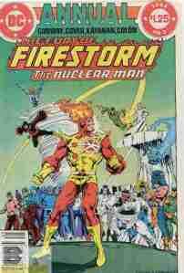Fury Of Firestorm Annual #2