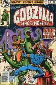 """""""Yesterday's"""" Comic> Godzilla #19(Marvel)"""