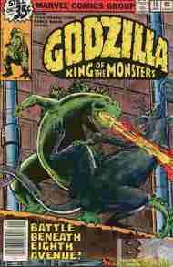 """""""Yesterday's"""" Comic> Godzilla #18(Marvel)"""
