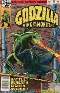Godzilla (Marvel) #18