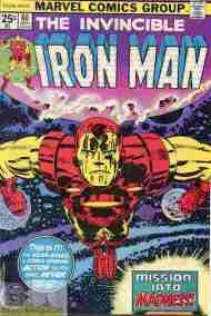 """Yesterday's"" Comic> Iron Man#80"