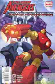 """""""Yesterday's"""" Comic> New Avengers/Transformers #3"""