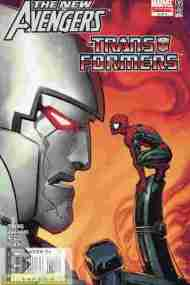 """Yesterday's"" Comic> New Avengers/Transformers #4"