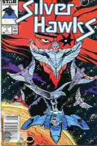 """Yesterday's"" Comic> Silverhawks#1"