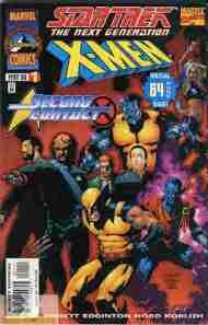 """Yesterday's"" Comic> Star Trek: The Next Generation/X-Men"