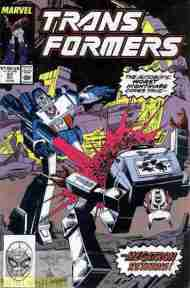 """Yesterday's"" Comic> The Transformers #57"