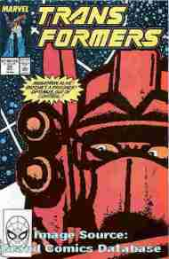 """Yesterday's"" Comic> The Transformers #58"