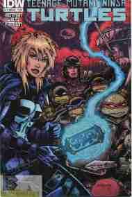Today's Comic> Teenage Mutant Ninja Turtles Annual2014