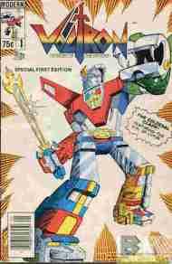 """Yesterday's"" Comic> Voltron #1(Modern)"