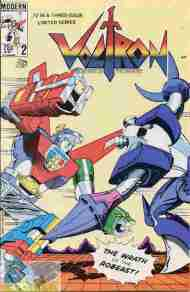 """Yesterday's"" Comic> Voltron #2 (Modern)"